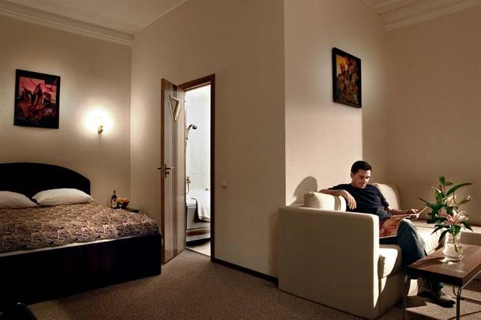 Дешевые гостиницы и отели Санкт-Петербурга - Гостиница Central-Inn в Санкт-Петербурге, номер Люкс
