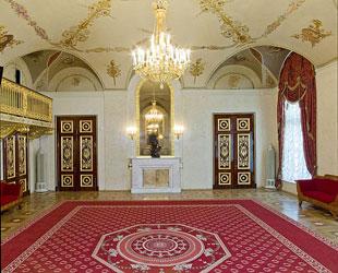 Царское фойе. Фото А. Б. Линецкого