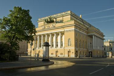 Здание театра. Фото А.Б.Линецкого