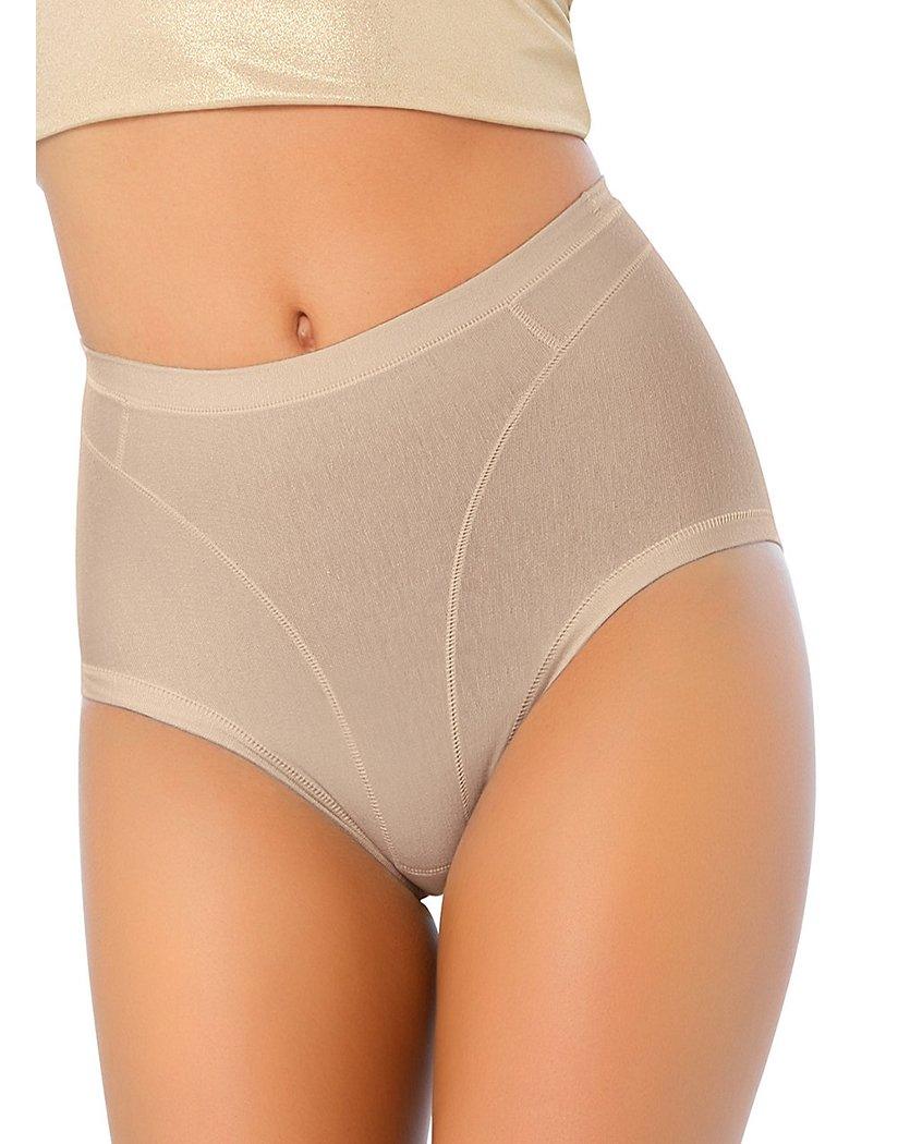 3e82a96e8b376 Leonisa Women s High Cut Panty Shaper In Cotton