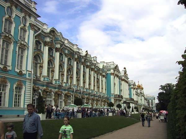 Город Пушкин фото экскурсия по Пушкину достопримечательности Екатерининский парк и Александровский парк